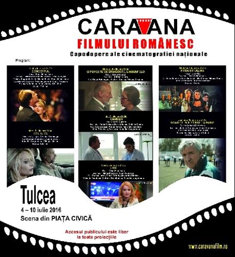 """""""Caravana filmului românesc"""" la Tulcea"""