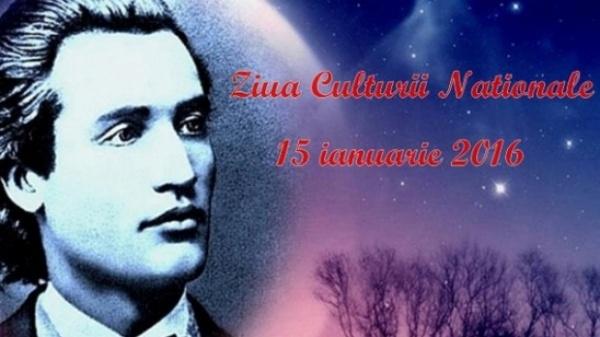 15 ianuarie: Ziua Culturii Naţionale