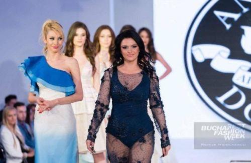 """Alina de la """"Bravo, ai stil!"""" a defilat pe podium pentru designerul Andreea Dogaru!"""