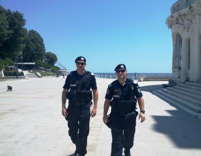 """Jandarmii constănţeni au spus DA campaniei  """"Let's Do It, România!"""""""