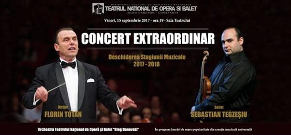 Deschiderea stagiunii 2017 – 2018 la Teatrul National de Opera si Balet