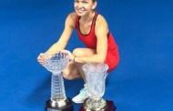 Simona Halep, dublă câştigătoare a turneului WTA de la Shenzhen