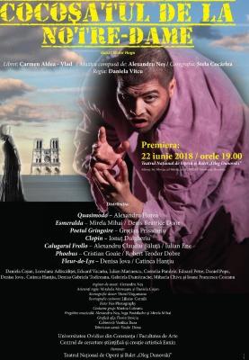 """Musical în premieră la Constanţa """"Cocoşatul de la Notre-Dame"""""""