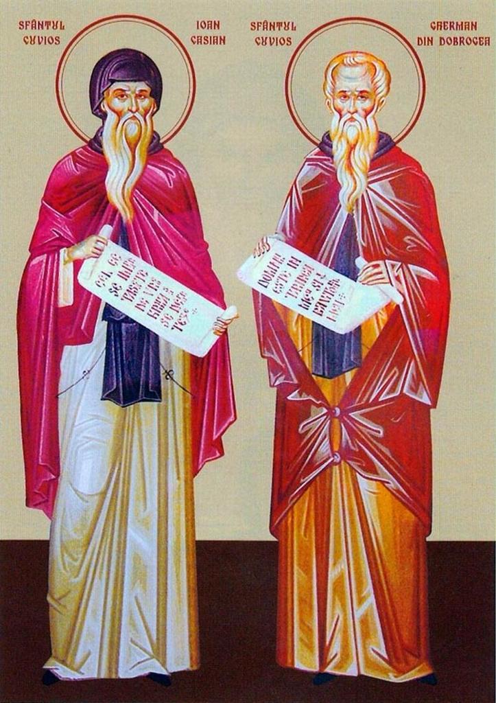 """Doi sfinți dobrogeni. Hramul mănăstirii """"Sf.  Ioan Casian"""""""