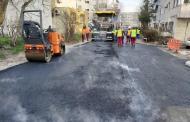 Lucrări de asfaltare în zona CET