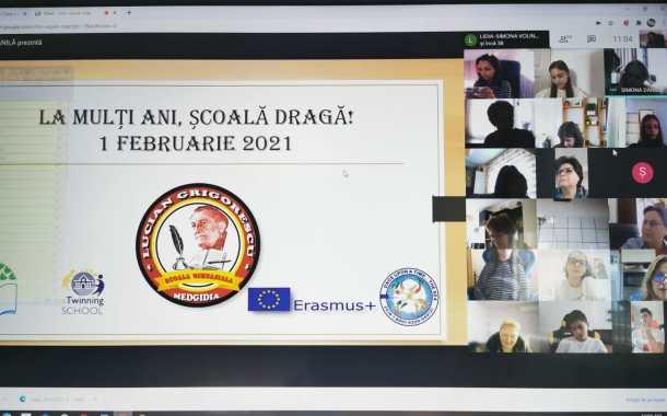 """O aniversare inedită la Școala Gimnazială """"Lucian Grigorescu"""" din Medgidia"""