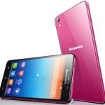 Lenovo smartphone s850 dark pink