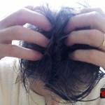masajul frictionarea energica a scalpului