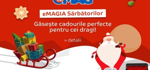 Campanie cu reduceri de sarbatori la eMag
