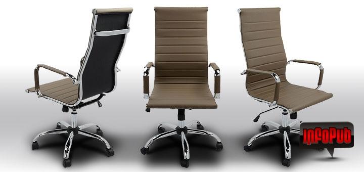 Scaun de birou ergonomic si modern Kring Lear Fit