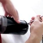 Demontare cu surubelnita - Rasnita Cafea Bosch