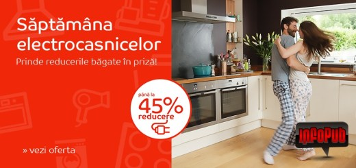 Campania Saptamana Electrocasicelor se intoarce la eMag