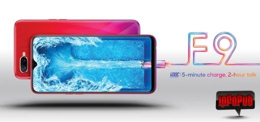 OPPO F9 telefonul cu cea mai frumoasa crestatura in ecran