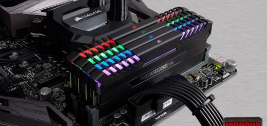 Module Instalate Memorie Corsair Vengeance RGB 16GB