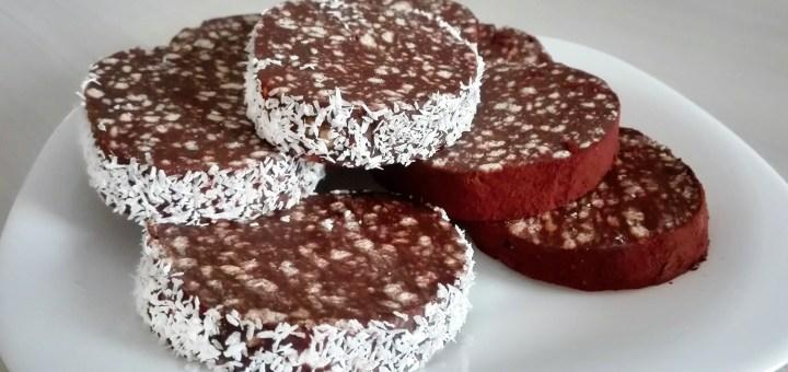 Reteta Salam de Biscuiti cu Cacao si Cocos