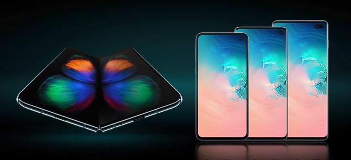 Samsung a lansat Galaxy S10e, S10, S10+ siGalaxy Fold