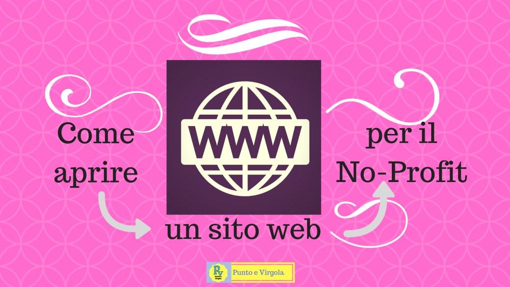 sito web terzo settore