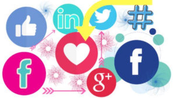 social network icone comunicare