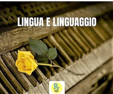 lingua e linguaggio