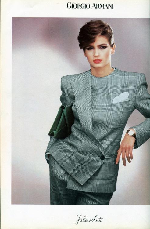pubblicità donna anni 80