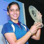 "Indian Shuttler Saina in the ""World Top Five"" Ranking in Badminton"