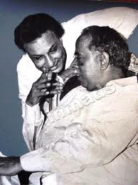 M.G.R. with Anna