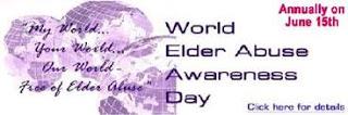 World Elder Abuse Awareness Day 15th June