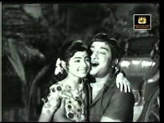 Sridevi with Sivaji Ganesan in the Movie Babu