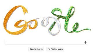Google-Doodle for India's I - Day 2013