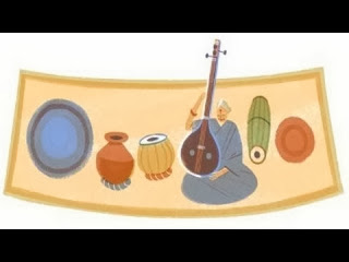 """Google Doodle"" on MS's 97th  Birthday 16 September 2013"