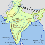 """List of """"Mountain Ranges"""" in India"""