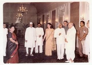 K R Narayanan and P V Narasimha Rao