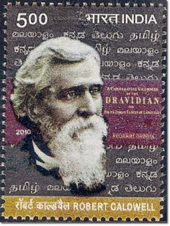 Commomorative Postage Stamp on Robert Caldwell Released in India in 2010