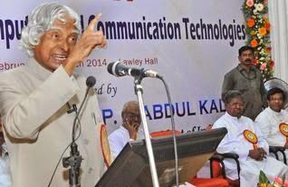 Former President of India APJ Abdul Kalam