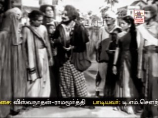 Thayathu Thayathu Song Still in MGR's Mahadevi
