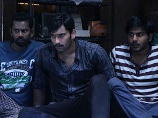 Three Friends watching Video in TV