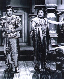 SSR with MGR in Kanchi Thalaivan Movie