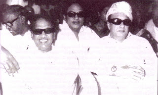 SSR with MGR and M Karunanidhi