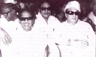SSR with MGR and M Karunanidhi