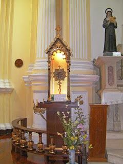 Relic of Saint Francis Xavier