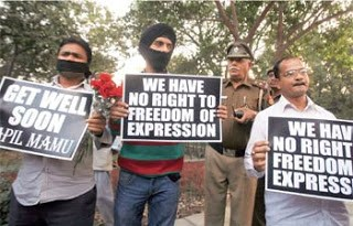 Freedom of Expression in India Controlled