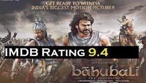Bahubali IMDB Rating