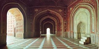 Mausoleum of Mum Taj Mahal in Agra