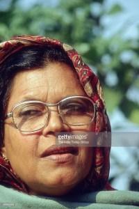 Syeda Anwara Taimur, former Chief Minister of Assam and Member of Rajya Sabha ( Congress, Mug Shot )