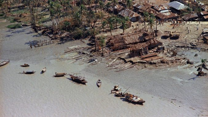1970 Cyclone damage