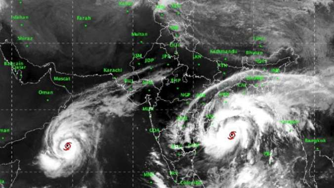 Cyclone Titli photo