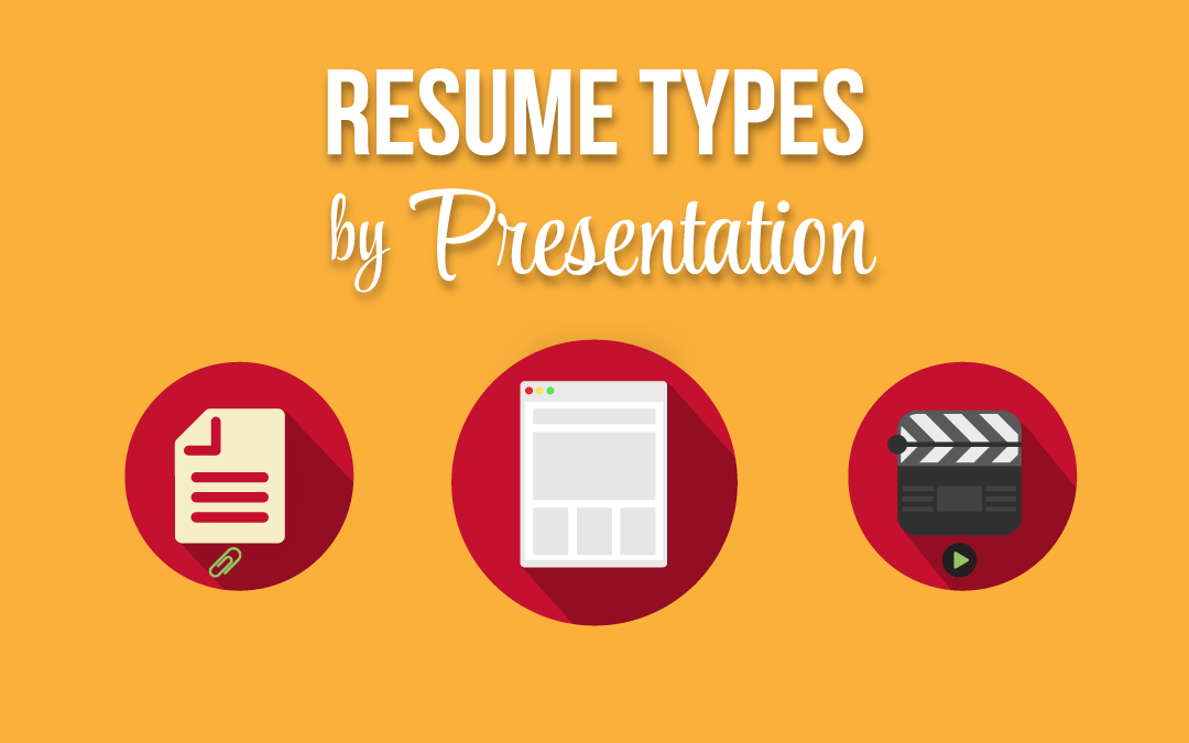 Resume Types by Presentation