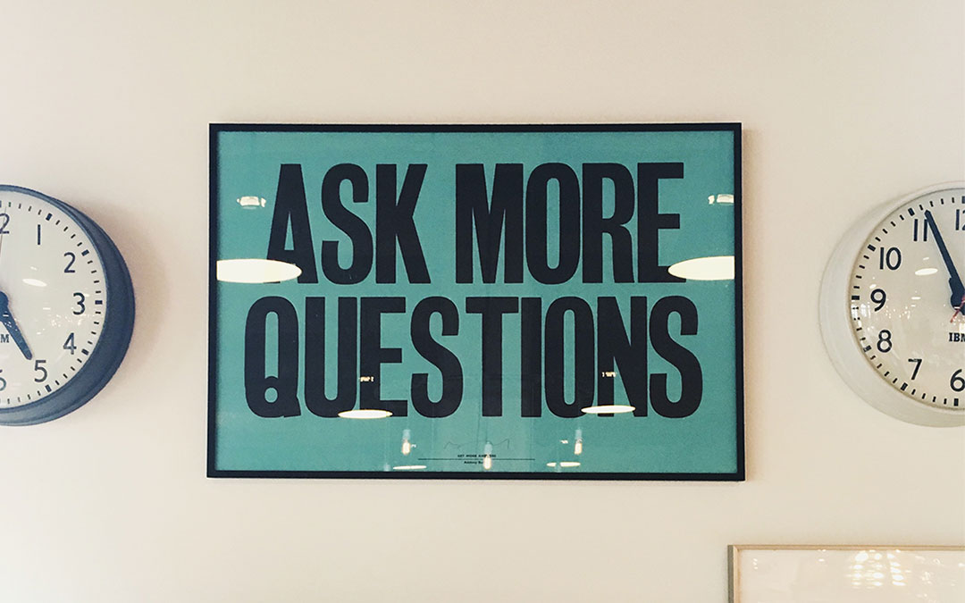 questions to ask a company