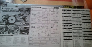 Montaje del Mugen MBX6-R