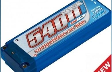 LRP LiPo 5400 carcasa rigida